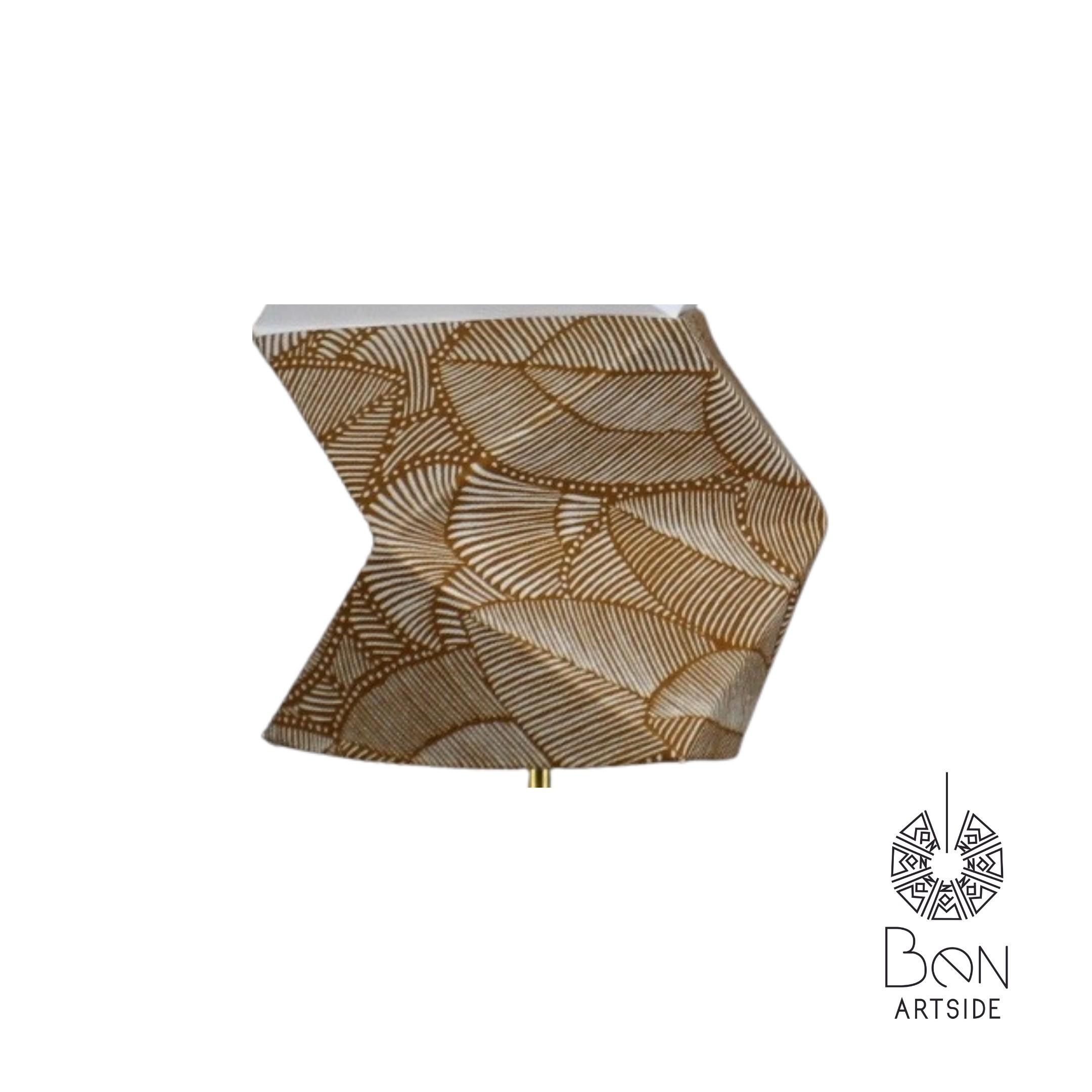 Tissu jaune motif fleure & oiseau